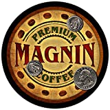 Magnin Family Coffee Rubber Drink Coasters - Set of for sale  Delivered anywhere in USA