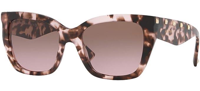 Amazon.com: Valentino ROCK STUD VA 4048 - Gafas de sol para ...