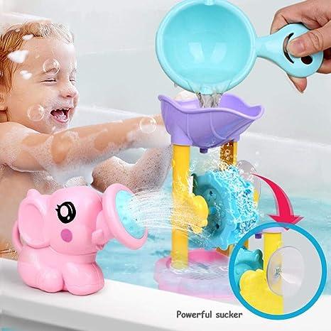 vraiment pas cher remise chaude nouveaux articles Kit de jouets pour le bain de bébé 3PCS, animaux de bain de ...