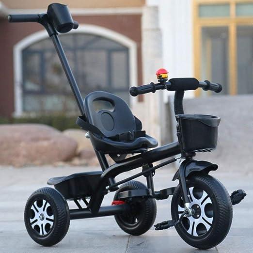 SOORCKBAKT Triciclo para niños Bicicleta de Triciclo para niños 1 ...