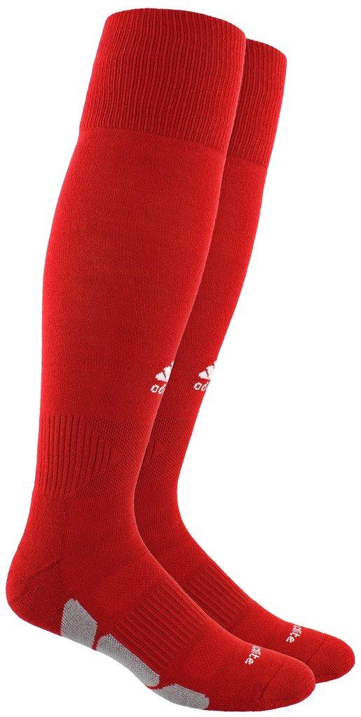 adidas ユーティリティ 全スポーツ対応ソックス B0185FGZN2Power Red/White/Light Onix Large