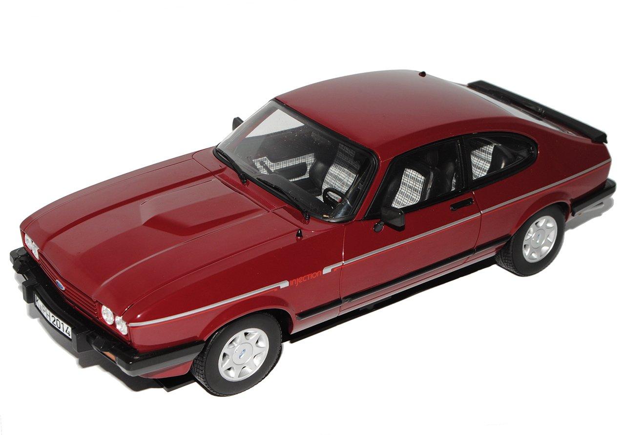 Norev Ford Capri II 2.8i Coupe Rot Braun 1978-1986 1/18 Modell Auto