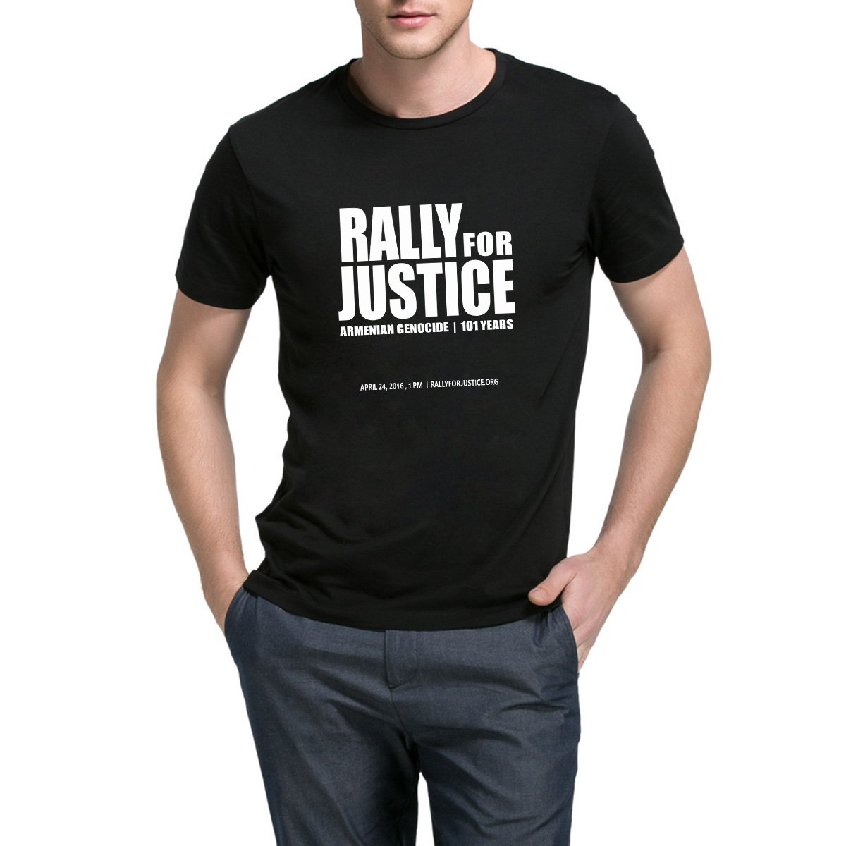 Loo Show Rally For Justice Casual Crew Short Sleeve T Shirts Funny Tee