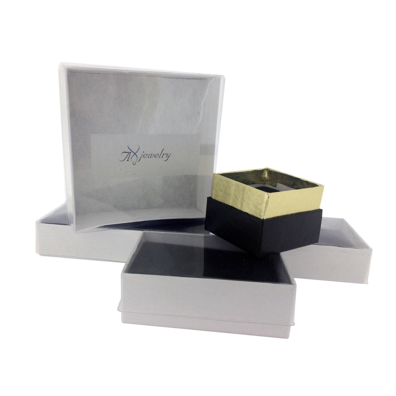 Tungsten Carbide Diamond Mens Wedding Band .20CTW (H-I I2) by AX Jewelry (Image #6)