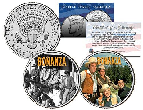 bonanza-tv-show-colorized-jfk-half-dollar-2-coin-set-cartwright-ponderosa