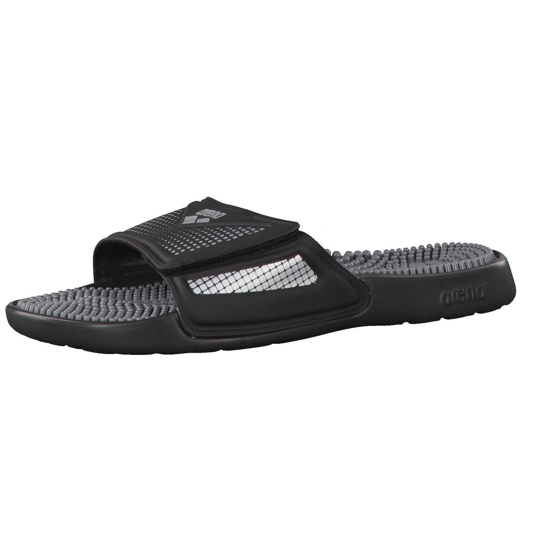 arena Marco VCR Hook Sandals Unisex Black-Grey-Silver 2019 Badeschuhe