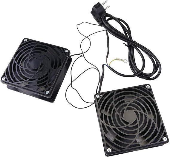 RackMatic - Ventiladores de techo para armario rack 19