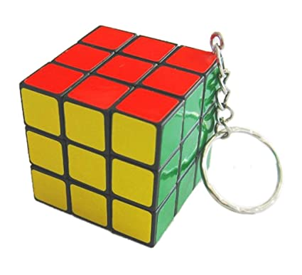 Rubix Cube llavero - 3 x 3 cm: Amazon.es: Hogar