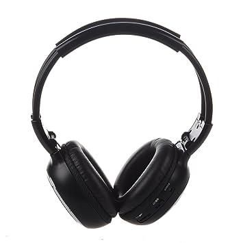 TOOGOO(R) 6m Auriculares estereo de doble canal inalambrico infrarrojos: Amazon.es: Electrónica