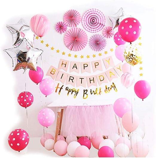 Siyushop - Decoración de primer cumpleaños para niña, diseño de ...