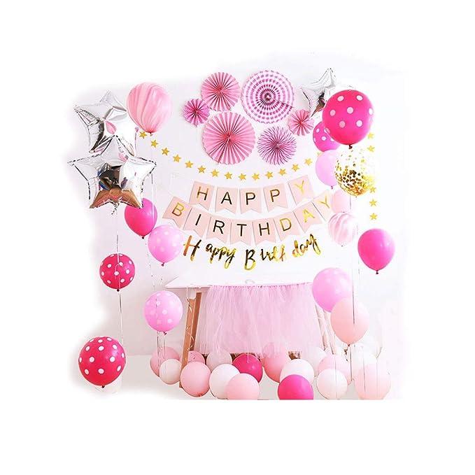 Siyushop - Decoración de primer cumpleaños para niña, diseño ...