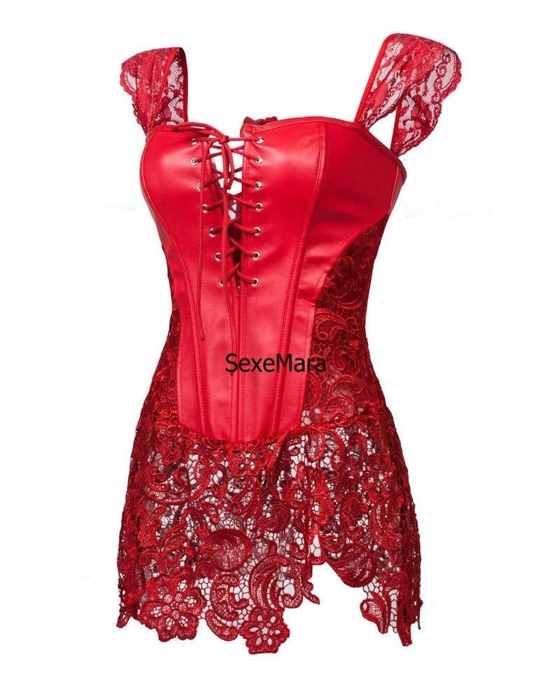 上品なスタイル Gederq - ナイトクラブ、プラスサイズのセクシーなランジェリーホット黒 Medium、白レースのセクシーな透明ゲームのユニフォームテディベアの衣装lenseriaセクシーなスリムドレス Medium 赤 赤 Gederq B07HG5KCSZ, ミイグン:6bccc80e --- a0267596.xsph.ru