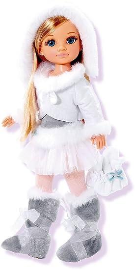 Amazon.es: Famosa 700004996/18823 Nancy Detailed Skiing muñeca on Ice Skating: Juguetes y juegos