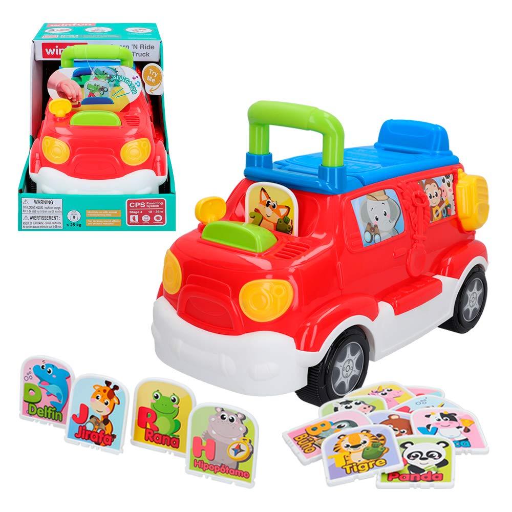 winfun - Correpasillos camión con luces y sonidos Safari (46335 ...