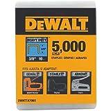 DeWalt 3/8 in. L Galvanized Steel Narrow Crown Heavy Duty Staples 20 Ga. 5000 pk