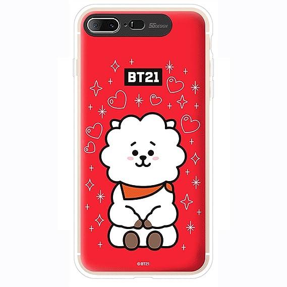 Amazon.com: iPhone 8plus Case/iPhone 7plus Case, BTS BT21 ...