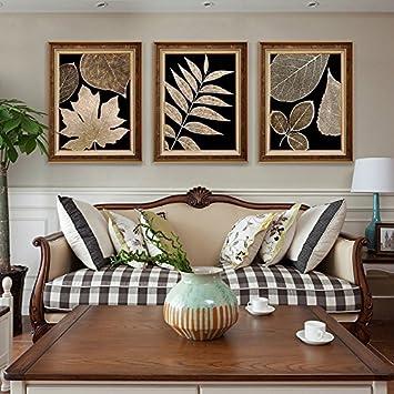 Patiné Le Salon canapé moderne simple peinture décorative toile ...
