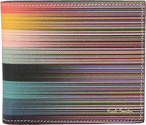 Paul Smith  Men's Artist Stripe Billfold Multi One Size by Paul Smith
