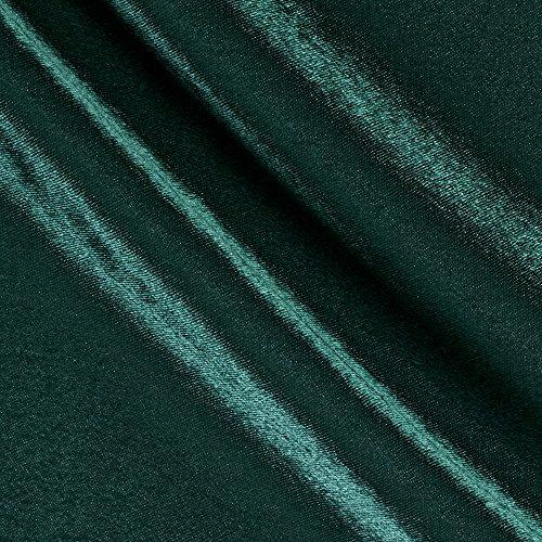 (Poly Crepe Back Satin Hunter Green Fabric)