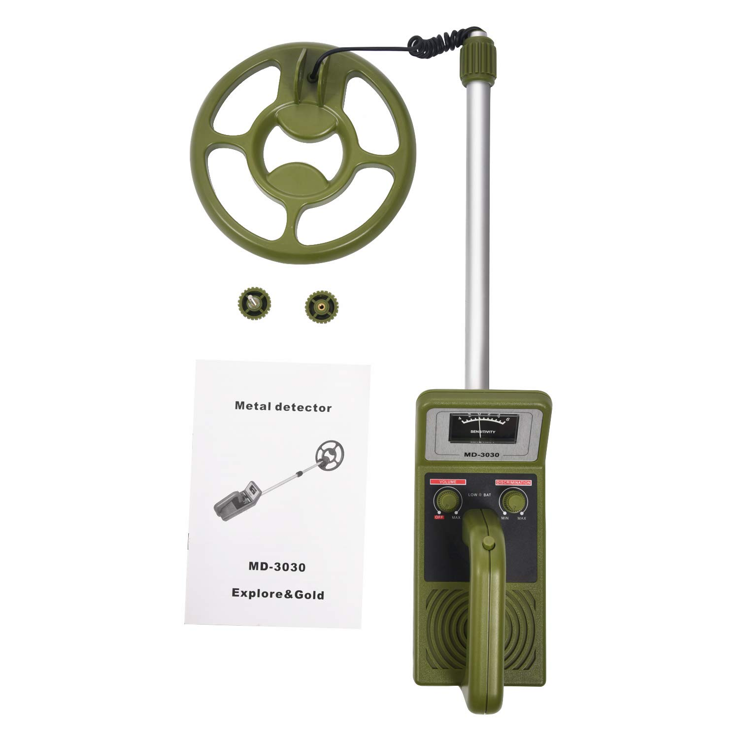 SODIAL(R) MD3030 Handheld metal detector same function with Seben Allround - - Amazon.com