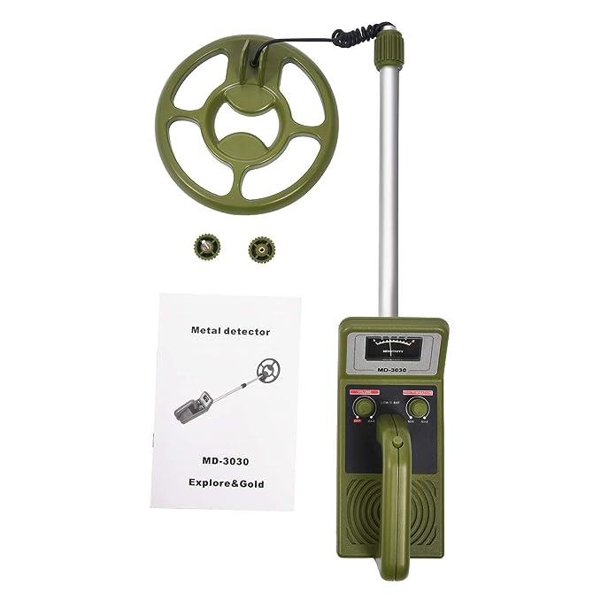 SODIAL (R) detector de metales de mano md3030 misma función con Seben Allround: Amazon.es: Bricolaje y herramientas