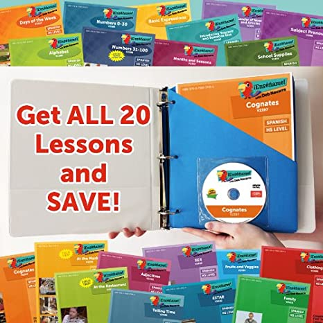 Amazon.com : ¡Enséñame!? Complete First Year Set of 20 Lessons ...