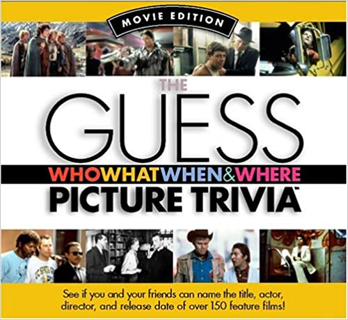 Guess Who What When & Where Picture Trivia Book Series: