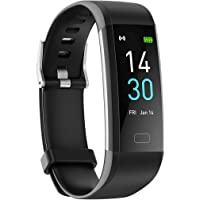 Fitness Tracker HR, Activity Tracker Watch with Heart Rate Blood Pressure Oxygen Monitor and Body Temperature…