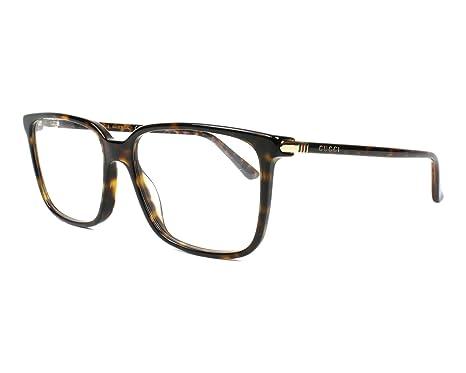 Amazon.com: Eyeglasses Gucci GG 0019 O- 002 HAVANA /: Clothing