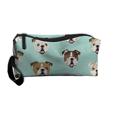 Dressing Case Travel English Bulldog Cosmetic Bags With Makeup Artist Case Multi Functional Makeup Handbag For Travel & Home Gift