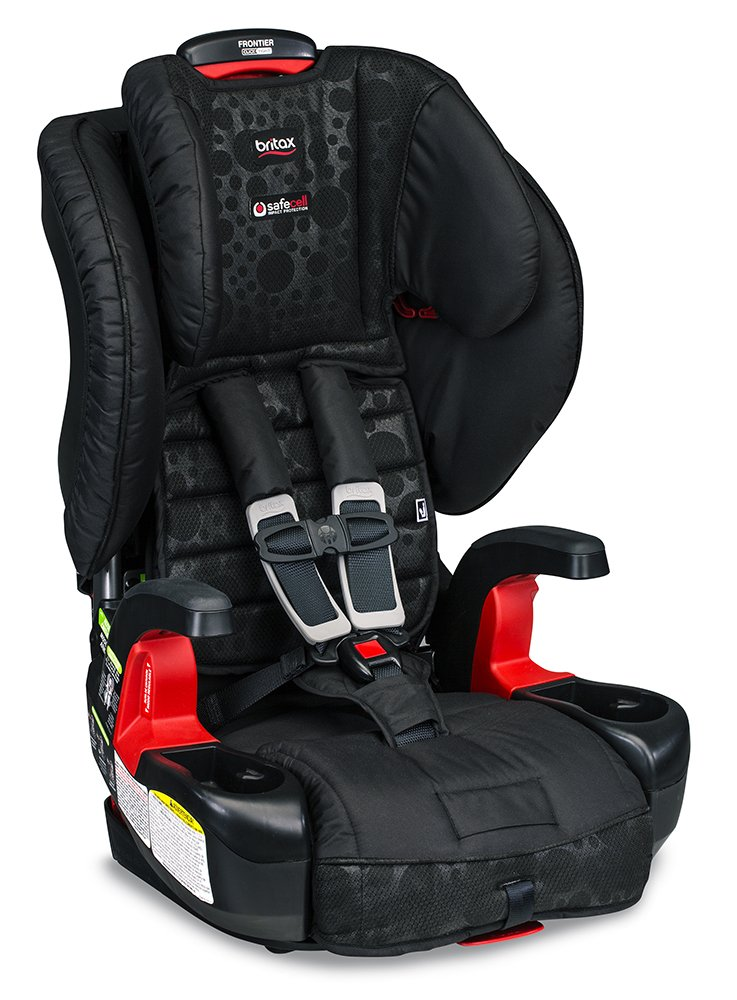 Britax Frontier ClickTight Cool Flow Harness-2-Booster Car Seat, Grey Britax USA E9LY79S