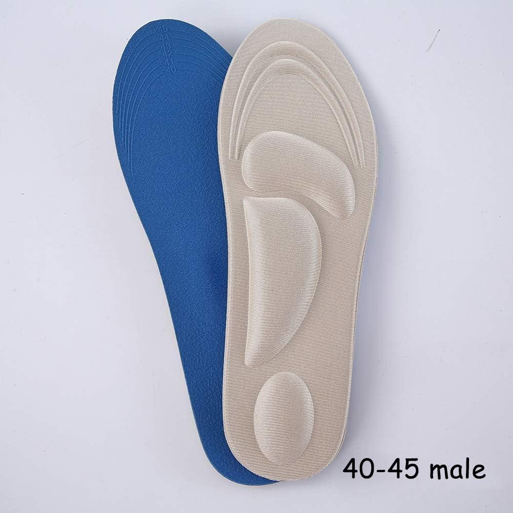 Chaussures Hommes Coussinet de Massage Respirant douleurs aux Pieds Opplei 4D Semelles orthop/édiques en Mousse /à m/émoire de Forme pour Femmes soulagement des Pieds