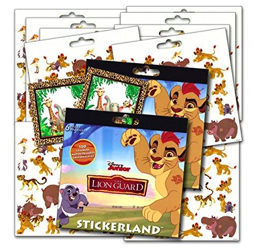 Disney Lion Guard Stickers Party Favors - Bundle of 2