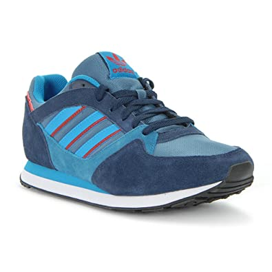 adidas ZX 100 - M25730 - Color Navy Blue-Blue - Size: 9.0