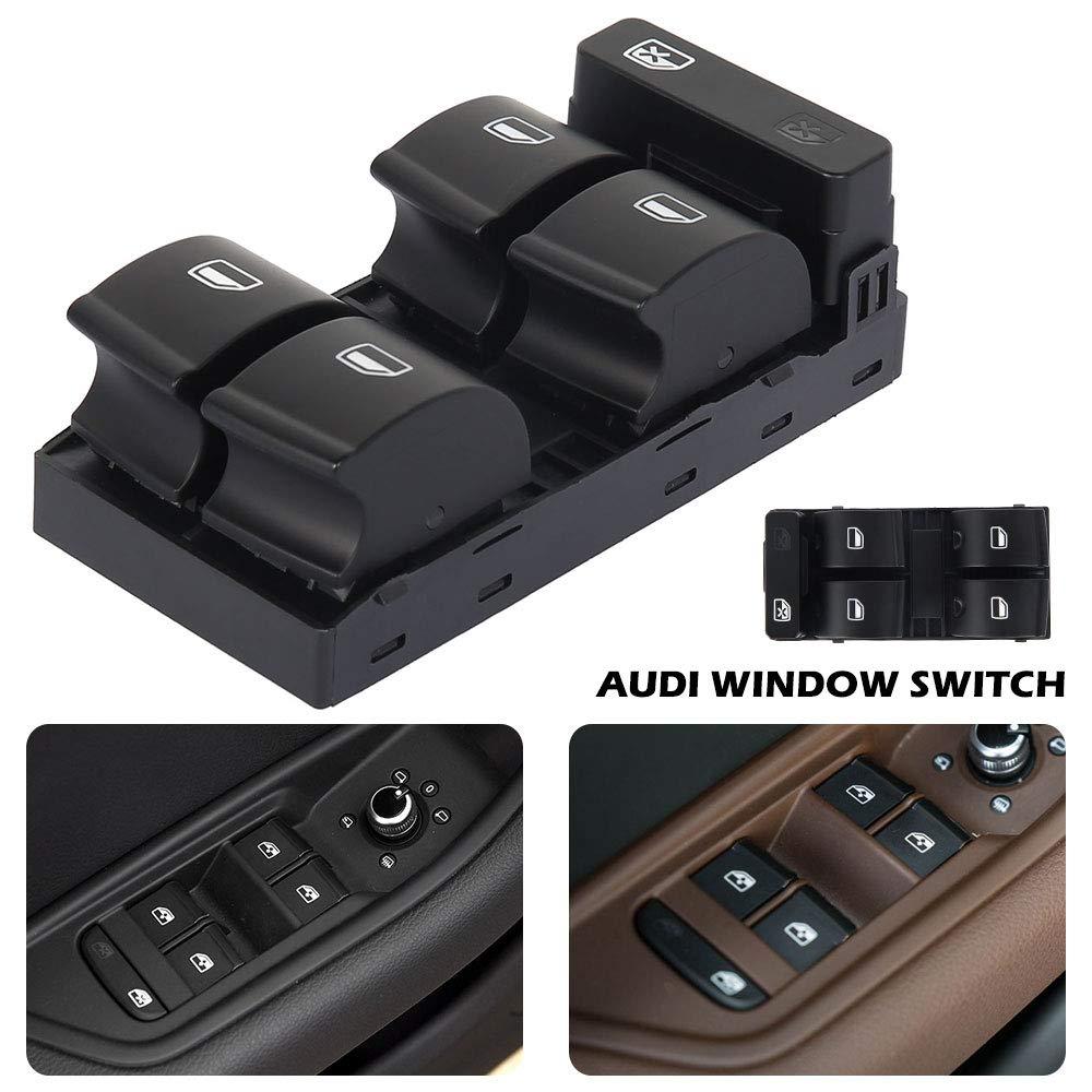 Alzacristalli Elettrico per AutoAudi A4 Pulsantiera Interruttore Finestrino per Posto Anteriore da Conducente