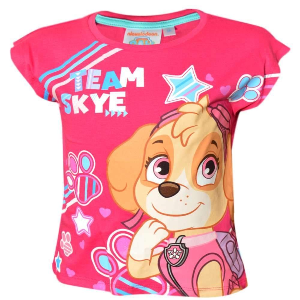 M/ädchen Offizielle Paw Patrol Skye T-Shirt Top Alter von 2 bis 6 Jahre