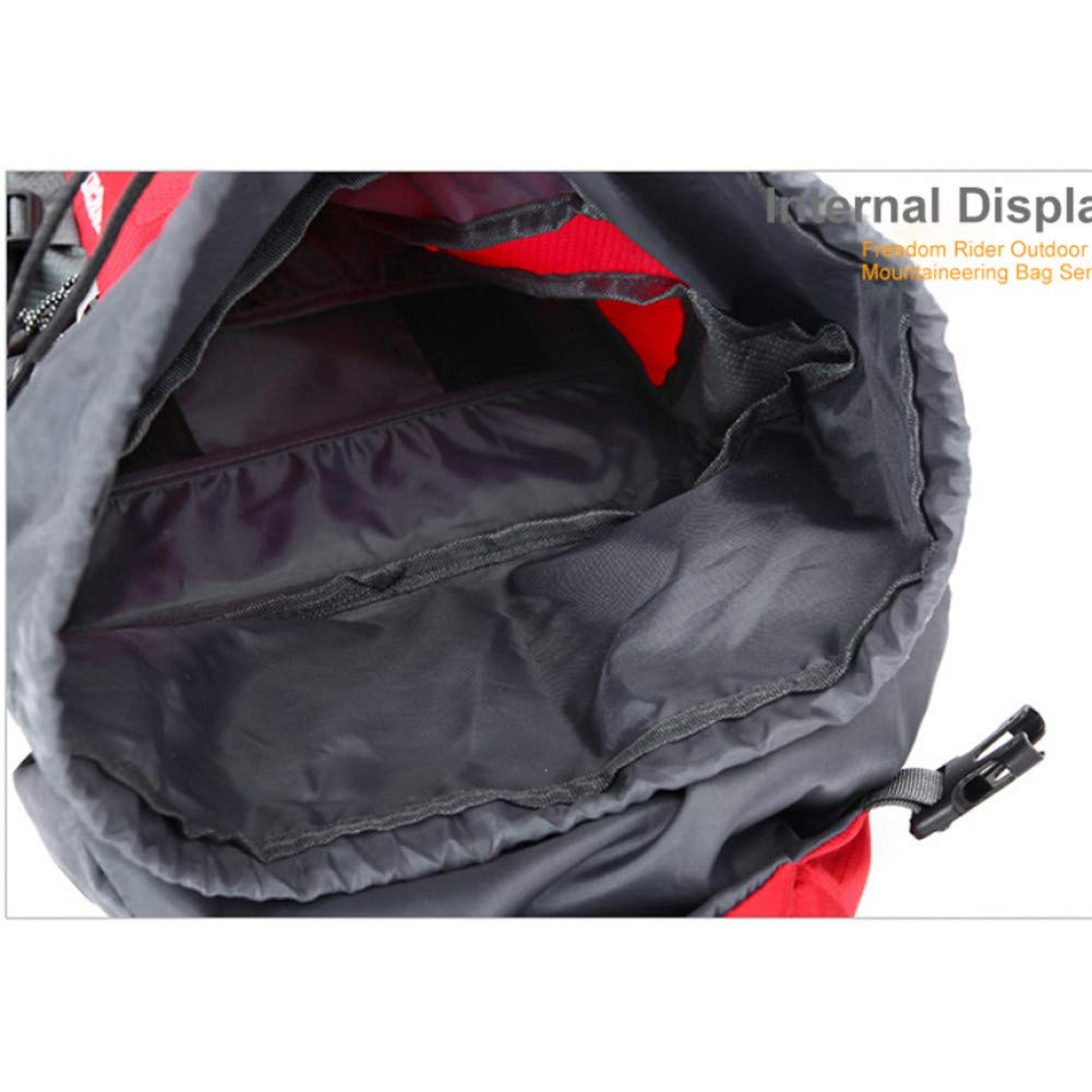 HUYANNABAO 70L Mountaineering Backpack Hiking Bag 65L+5L Climbing Mountain Backpack Hike Bike Equipment