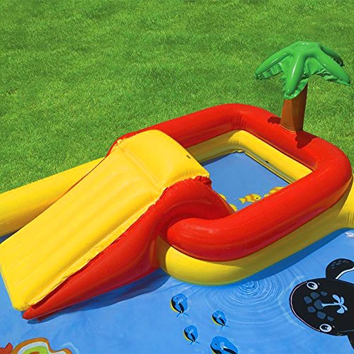 Intex Ocean Play Center Kids Inflatable Wading Pool + Quick Fill Air Pump by Intex (Image #2)