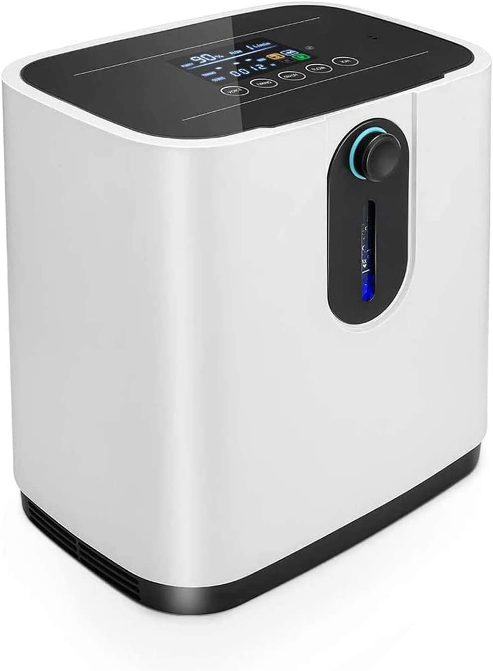 TTLIFE Newest Oxygen Concentrator, Better 1-7L/min Adjustable Portable Oxygen Machine for Home and Travel Use, The Best Oxygen Concentrator with Updated Large Capacity