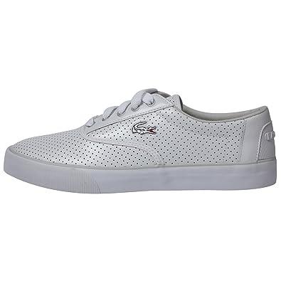 8b55d969b Lacoste Strategic Trend Ibiza MP1 (White)  Amazon.co.uk  Shoes   Bags