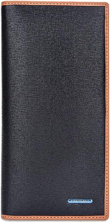 FinancePlan Mens Genuine Leather Business ID Credit Card Holder Case Bag Wallet 26 Slots