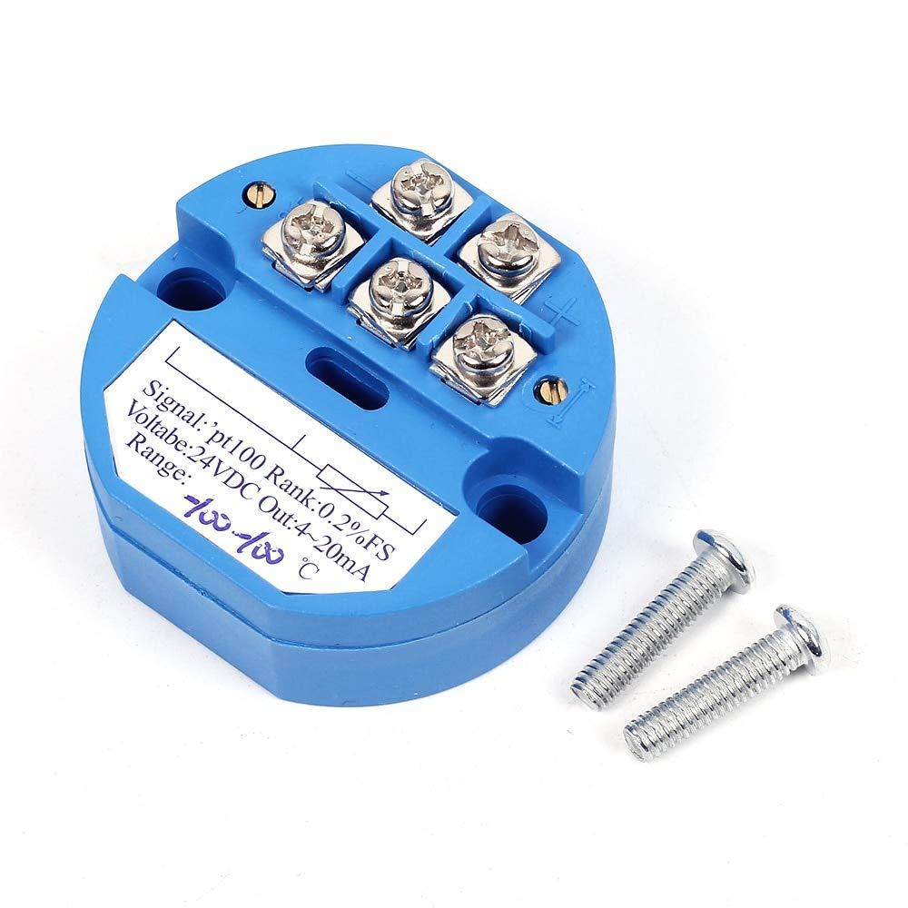 transmisor de medici/ón de temperatura 4-20 MA RTD PT100 SBW 0~100 // -50~150//0-50 ? // 0-200 // -50-100? // 0-500//0-400//0-250//0-300//0-600//-200-200 Sensor de temperatura aislado 0~50? 1