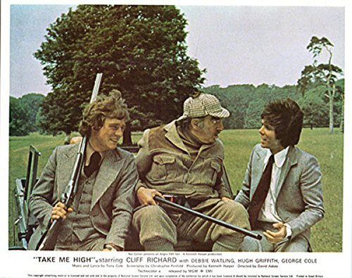 Andrew Buggy (Take Me High Original Lobby Card Cliff Richard Anthony Andrews On Buggy)