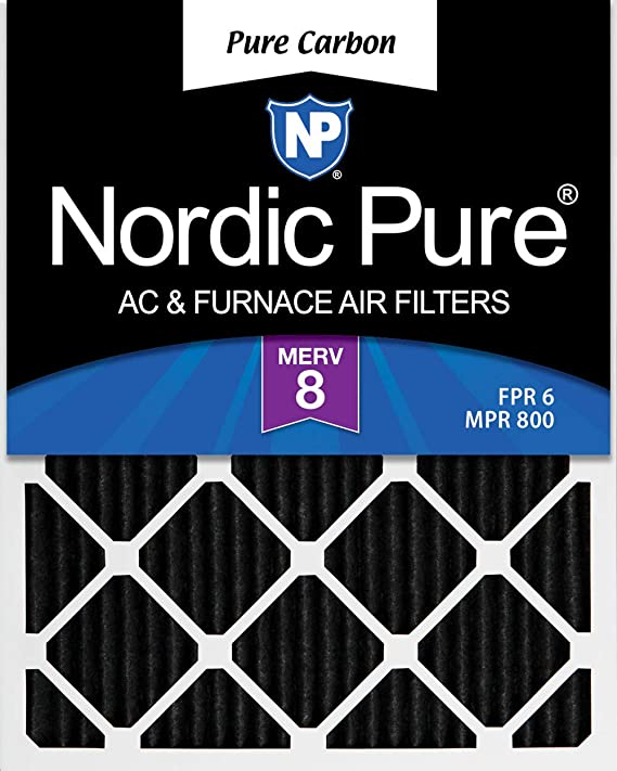 Nordic Pure 13x21x1 Exact MERV 11 Pleated AC Furnace Air Filters 3 Pack