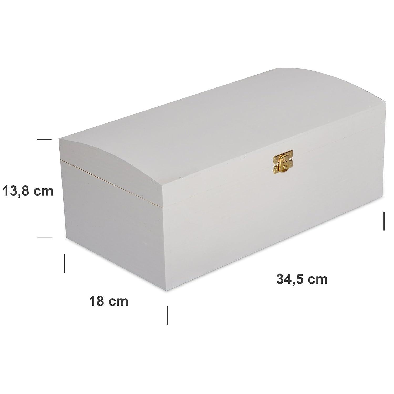 xxl white large keepsake treasure chest wooden memory box 34 5 x