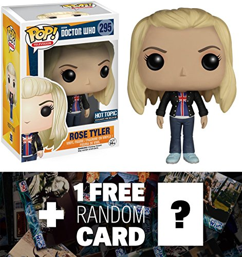 Rose Tyler: Funko POP! x Doctor Who Vinyl Figure + 1 FREE Official Dr Who Trading Card Bundle [62071]