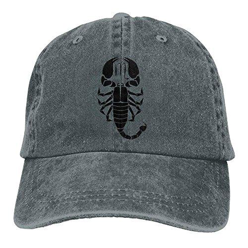 (Scorpio Zodiac Astrology Horoscope Cowboy Hip-Hop Hat Rear Cap Adjustable Cap)