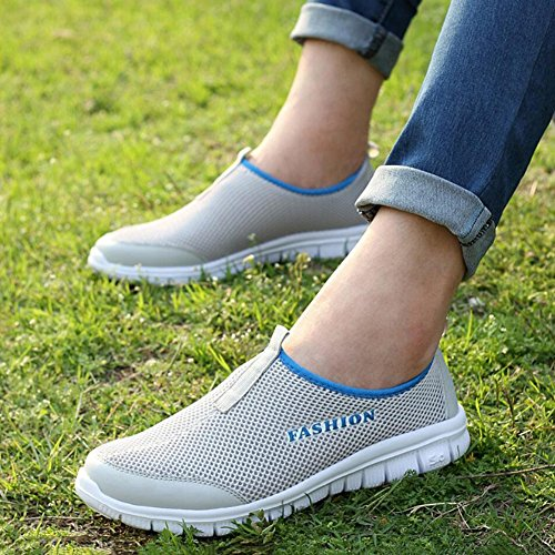 Slip Mocassins Trekking Chaussures Chaussures Chaussures Chaussures XUE de Respirant Sport Conduite B Printemps Forme Occasionnel amp; Plate Chaussures Chaussures Tulle Ons Course Été Lovers z0UzR