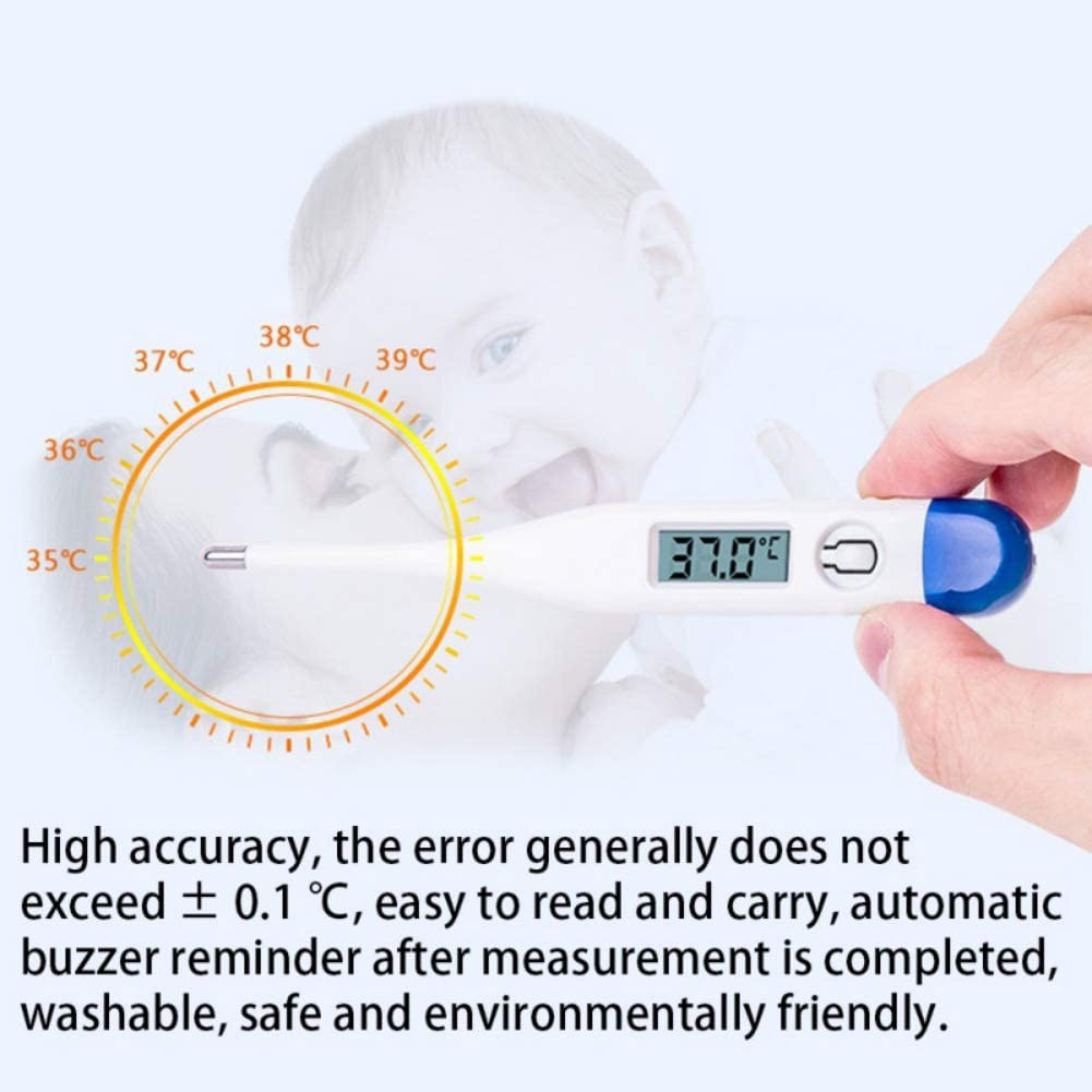 und Rektalthermometer f/ür Kinder//Babys//Erwachsene Balai Babythermometer Mund genaue und schnelle Ablesungen