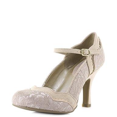 ffb4443f718 Amazon.com  Ruby Shoo Women s Imogen Mary Jane Pumps  Clothing